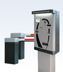 Kundenparksystem 3 - mit Kassenautomat